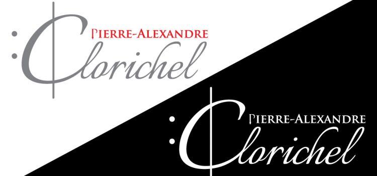 Нашият лого дизайн процес зад логото на Pierre-Alexandre Clorichel