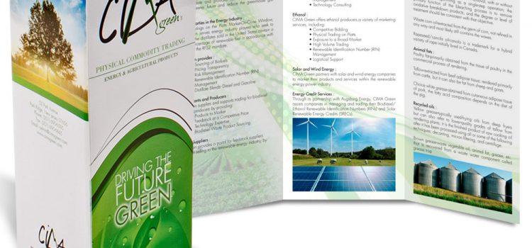 Изработка на рекламни брошури