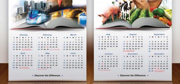 3 вида фирми, които е добре да използват рекламни календари