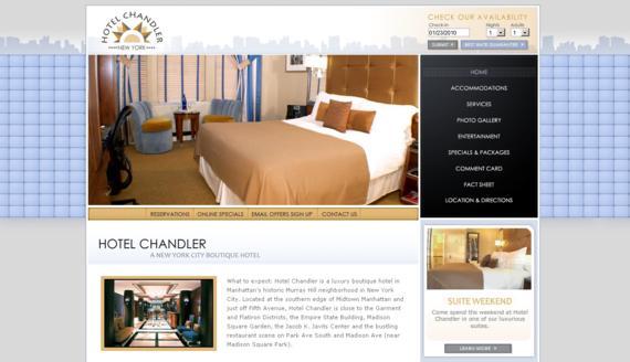Изработка на уеб сайт за хотелски комплекс