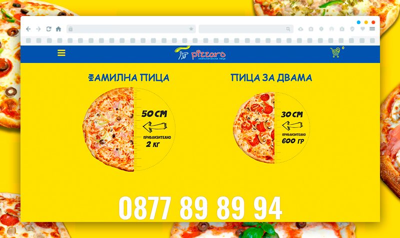 Pizza Restaurant eCommerce Website