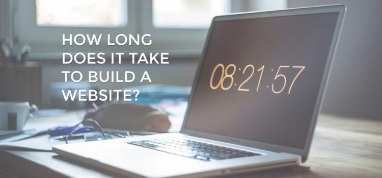 Колко време отнема направата на уеб сайт?