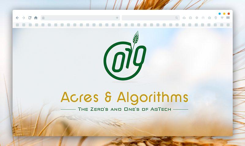 Изработка на лого за Acres and Algorithms