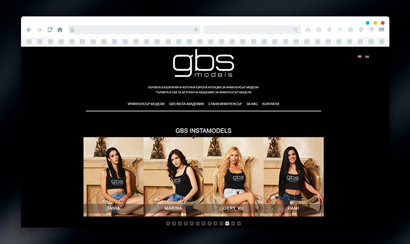 Website Development for GBS Models