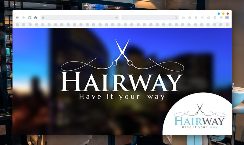 Изработка на лого за Hair Way
