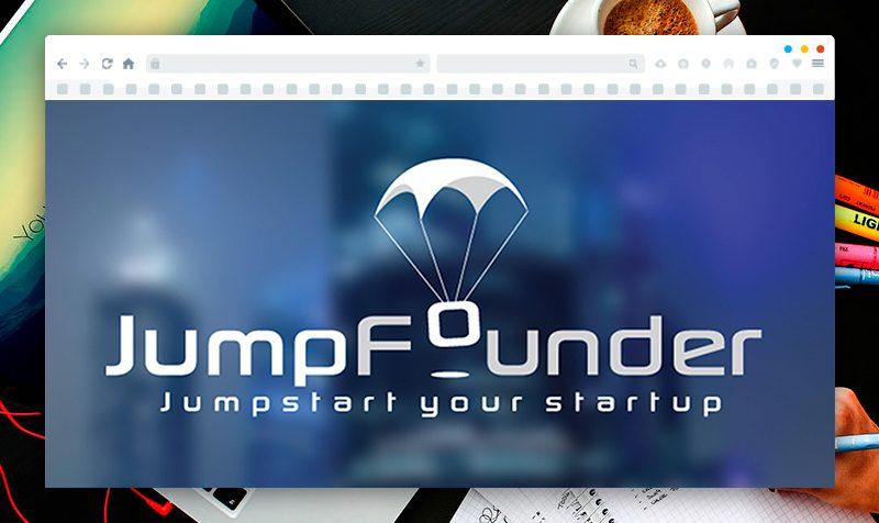 Изработка на лого за Jump Founder