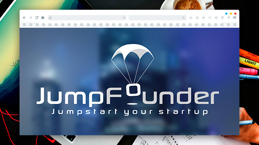 Logo Design for Jump Founder