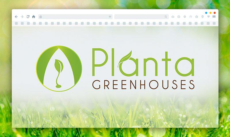 Изработка на лого за Planta Greenhouse