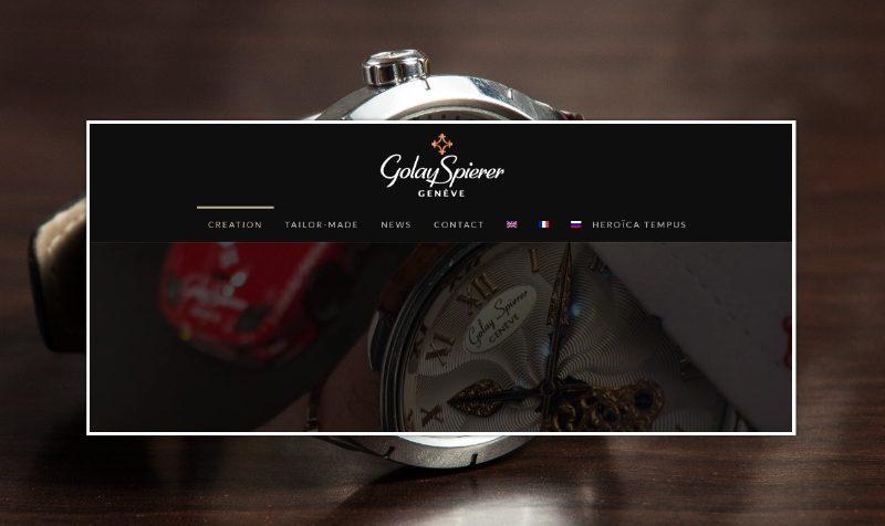 Изработка на сайт за луксозни часовници