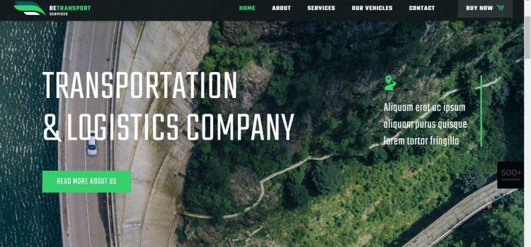 Сайт за транспортна фирма