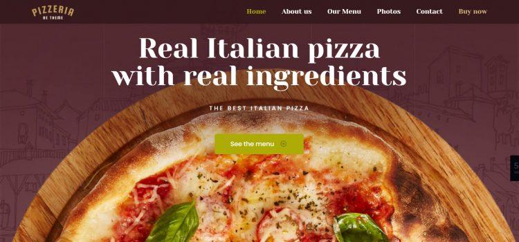 Сайт за пицария