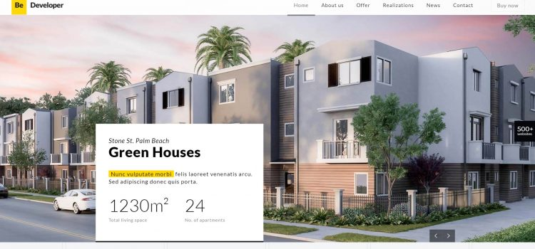 Сайт за строителна компания