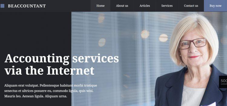 Сайт за счетоводна къща