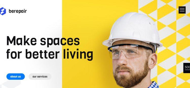 Уеб сайт за строително-ремонтни дейности