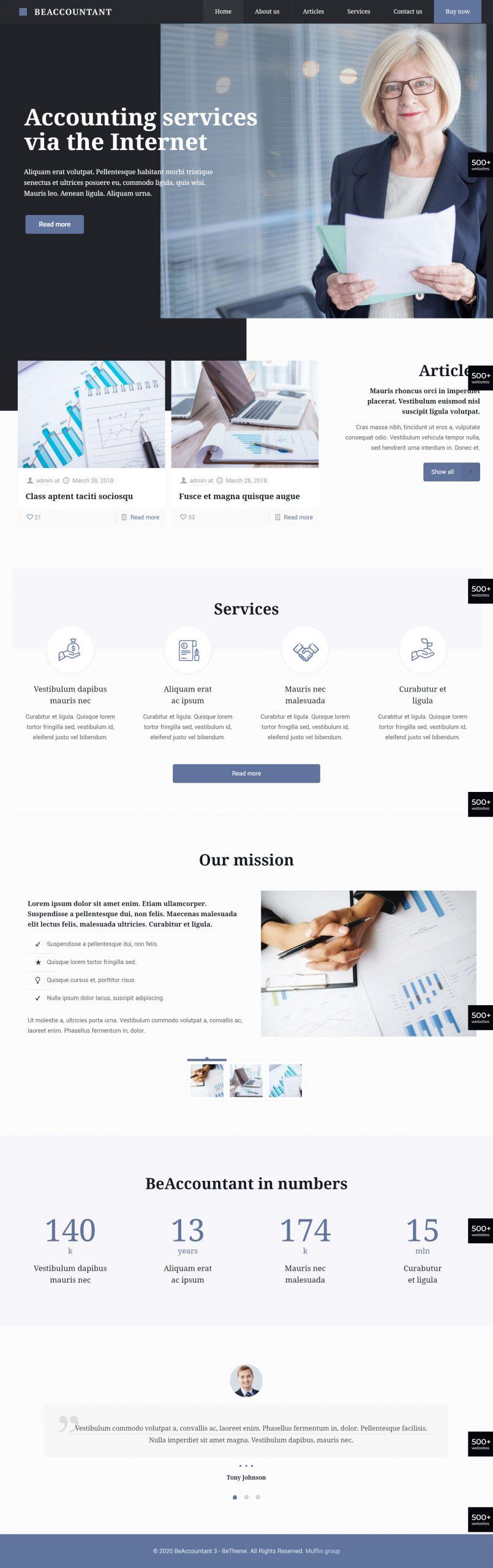 сайт за счетоводна кантора
