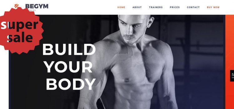 Сайт за фитнес зала