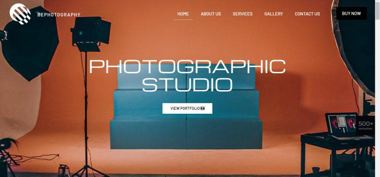 Сайт за фотографски услуги