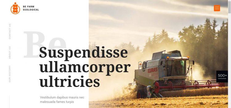 Сайт за земеделски производител