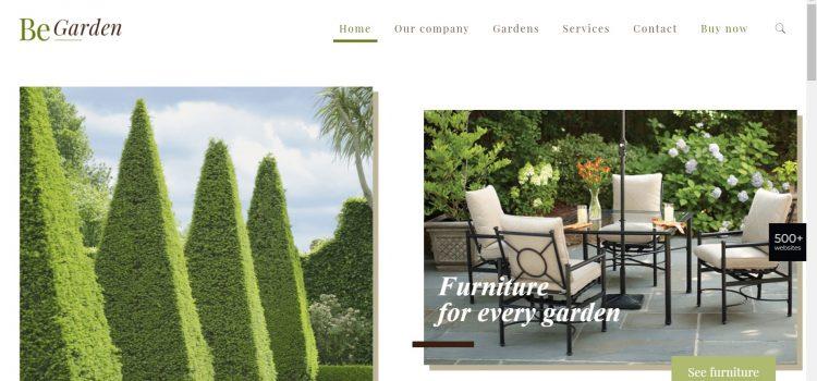 Сайт за фирма за озеленяване