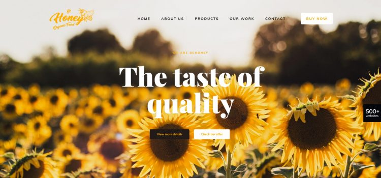 Сайт за медопроизводител