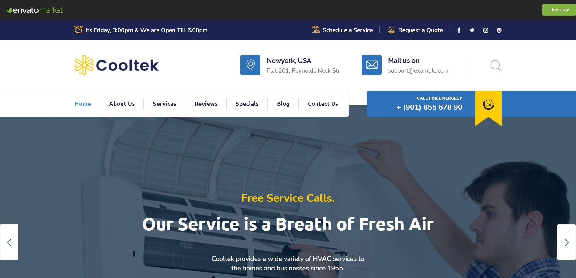 Сайт за климатици