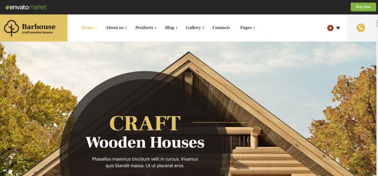 Сайт за сглобяеми дървени къщи