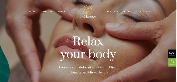 Сайт за масажи